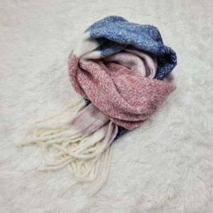 Mix It Chunky Oversize Fringe Knit Scarf